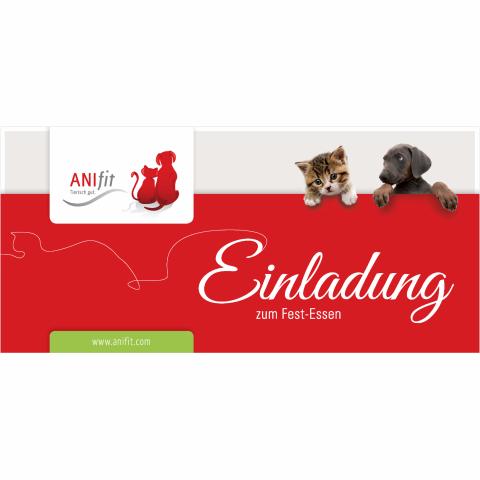 Anifit Einladungskarten (10 Stück)