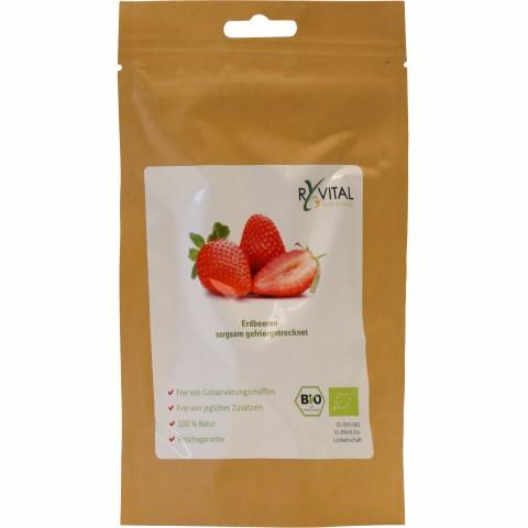 Bio-Erdbeere gefriergetrocknet 12g (1 Packung)
