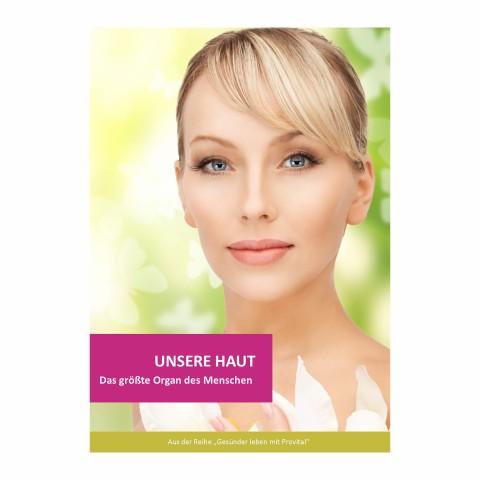 "Broschüre ""Unsere Haut"" (1 Stück)"
